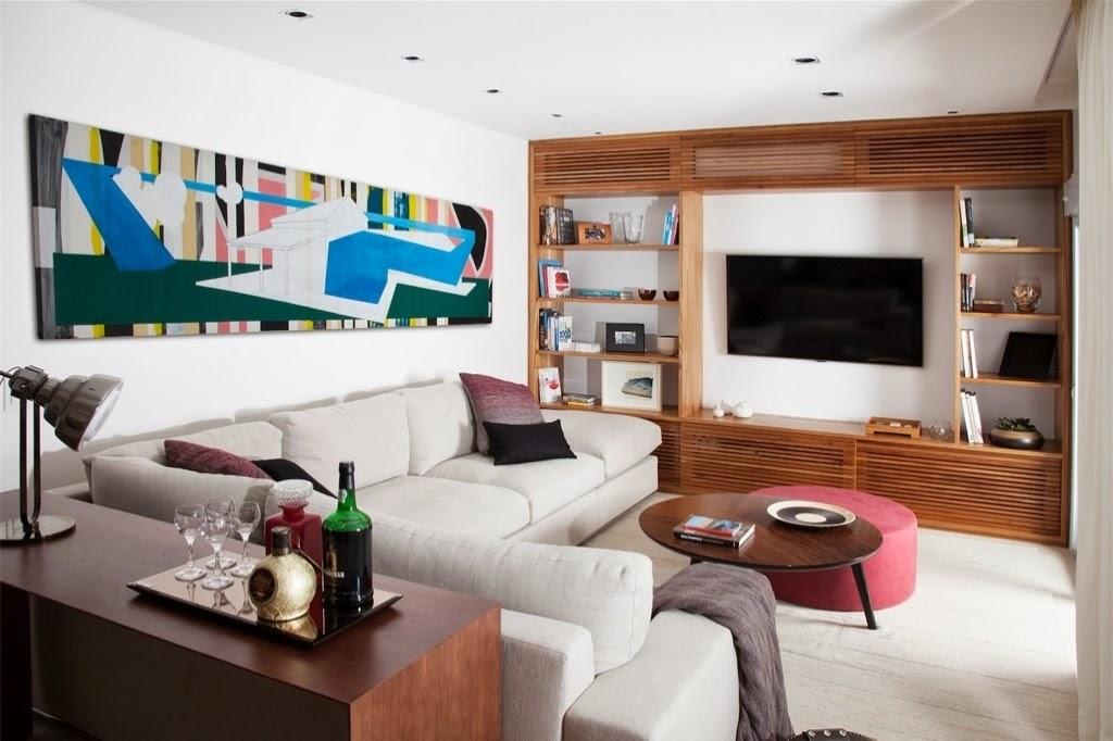 Salas De Tv Com Sofa De Canto ~ Veja ideias de decorações de salas com sofás de canto