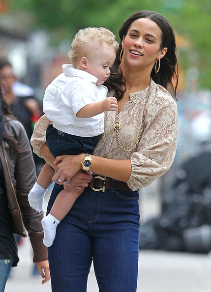 Family Time: Paula Patton, Robin Thicke And Baby Julian!