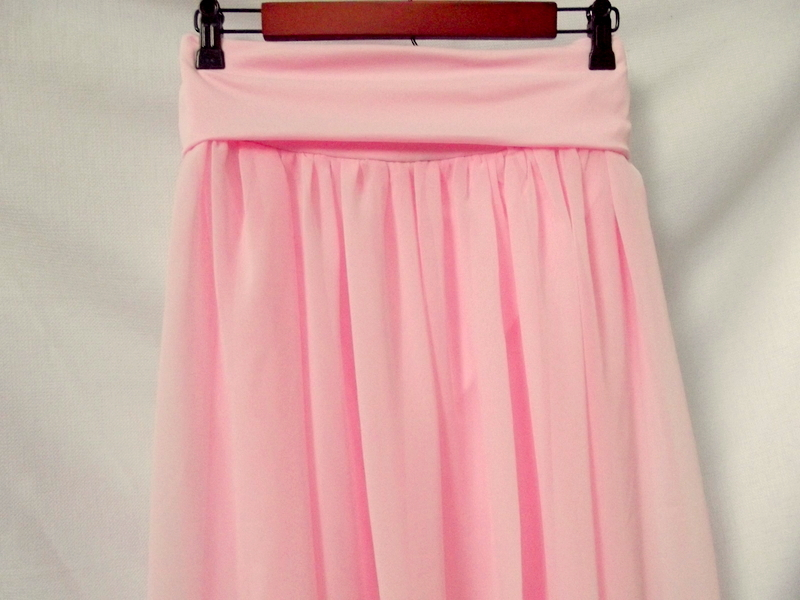morning by morning productions chiffon maxi skirt tutorial