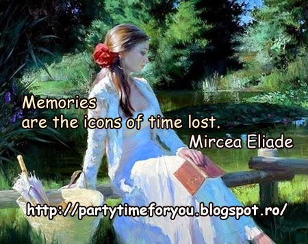 Memories are the icons of time lost