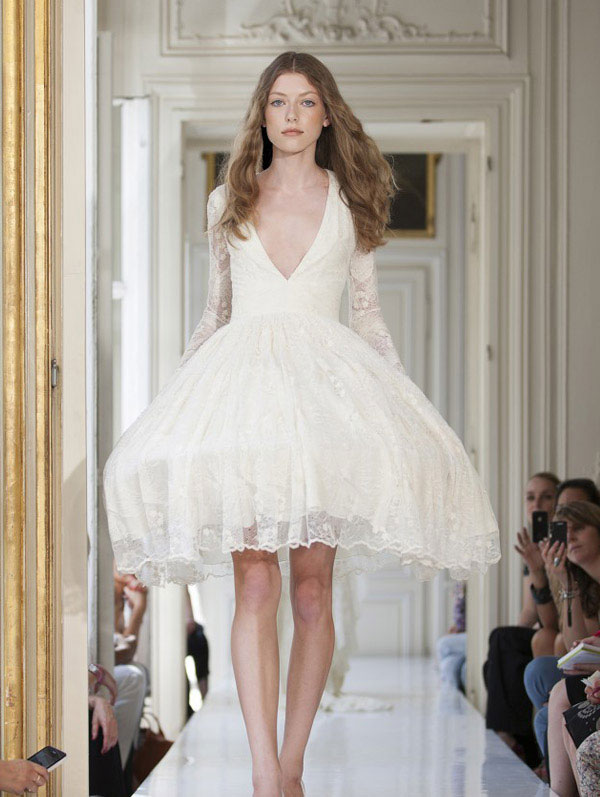 Fashion And Stylish Dresses Blog: Delphine Manivet 2013 Wedding ...