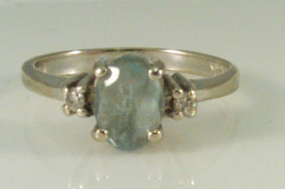 My aquamarine ring