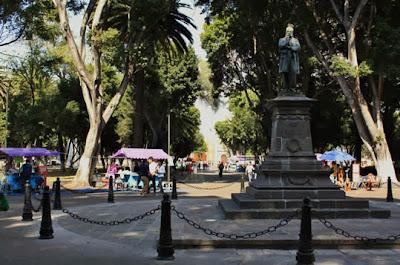Paseo bravo, Puebla.