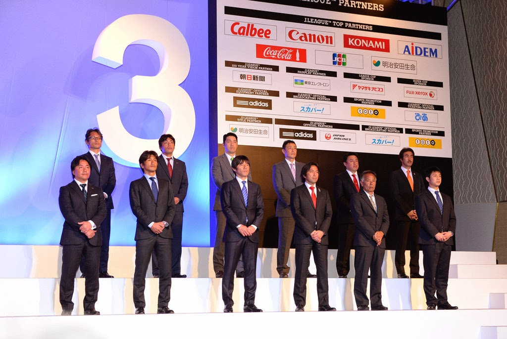 Para Pelatih Klub Peserta J3 J.League Musim 2014