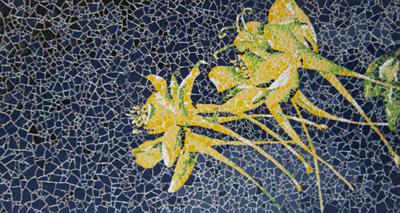 An elephant a day elephant no 189 eggshell mosaic for Egg mosaic design