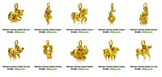 Zodiac Jewelry by Tiffany & Co.