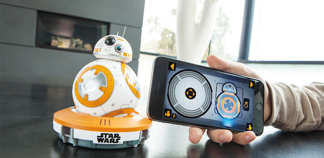 Heute kommt der BB-8 aus Star Wars 'The Force Awakens' als Sphero raus | 3 Pics - 1 Video