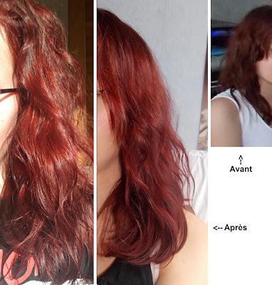 Le masque pour les cheveux loeuf et le vinaigre pour la croissance des cheveu