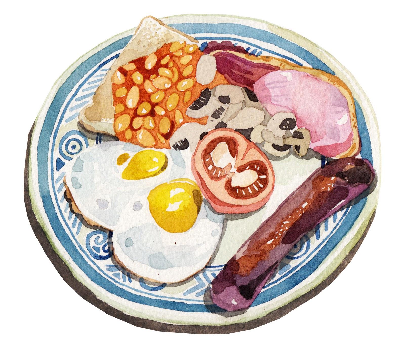 Illustration of food chain