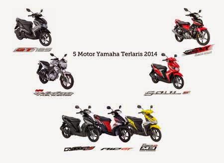 motor Yamaha terlaris 2014