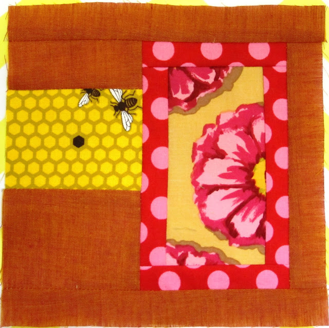 Tula Pink's City Sampler Block 32