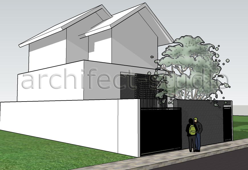 archifect studio tips mendesain rumah tinggal di lahan