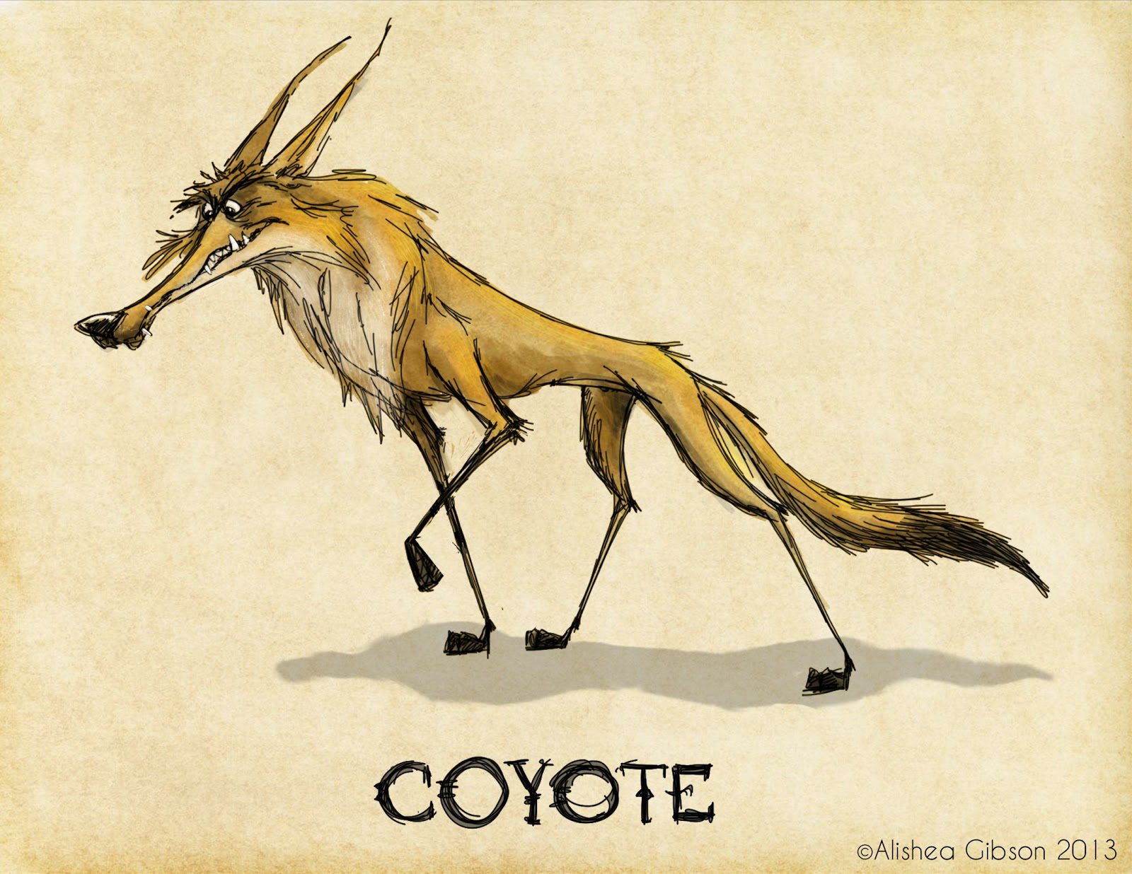 Displaying 17 gt images for drawing coyote pictures