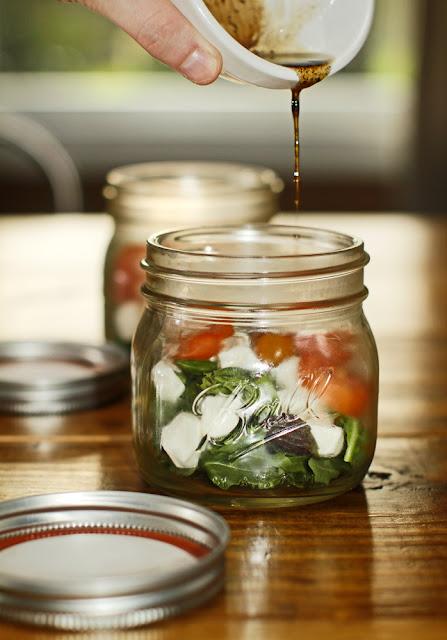 caprese salad jar
