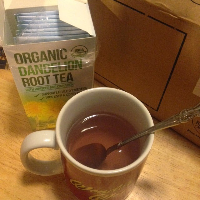 Beautiful Lavender Tea