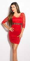 Rochie ShinySparkle Red