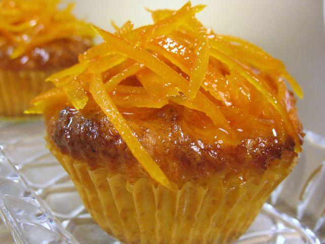 Кексы апельсиновые