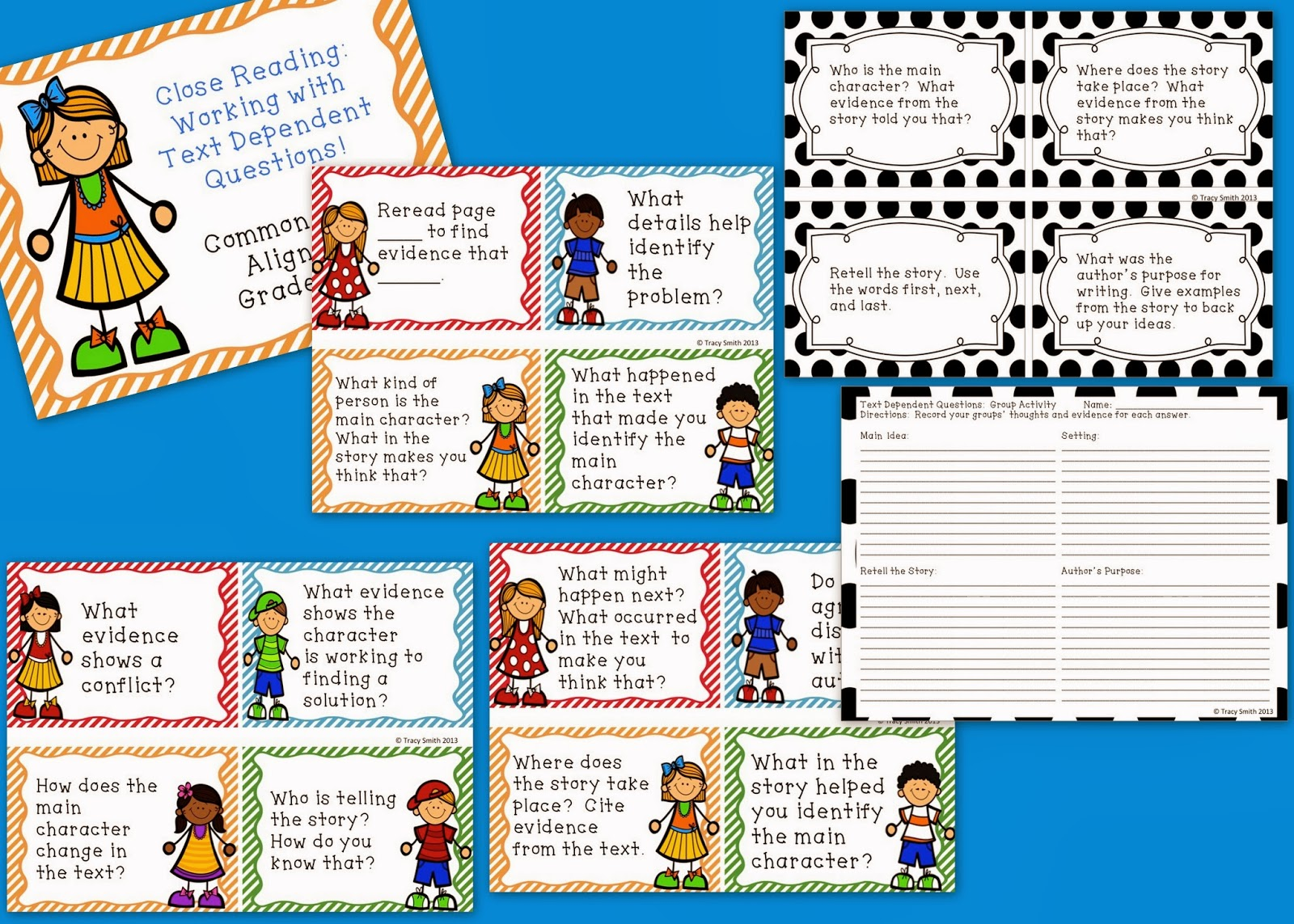 http://www.teacherspayteachers.com/Product/Close-Reading-Working-with-Text-Dependent-Questions-1030278