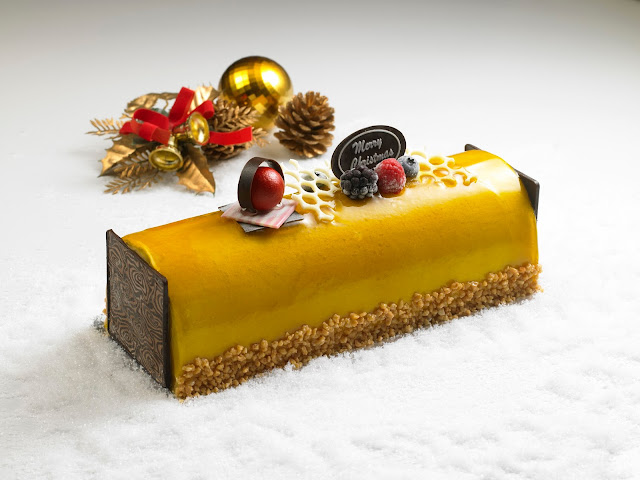 Swensen's Ice Cream Log Cakes - Honey Manukadamia
