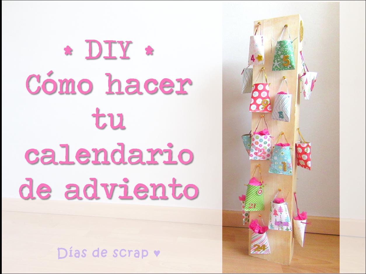 El perro de papel aprende handmade c mo hacer un - Como hacer tu propio calendario ...