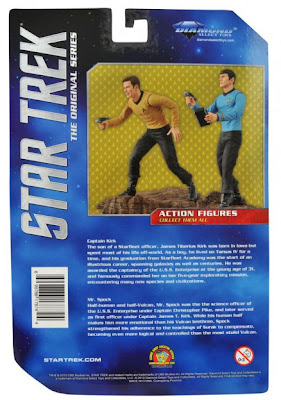 Diamond Select Star Trek The Original Series Toys R Us Exclusive Cardback