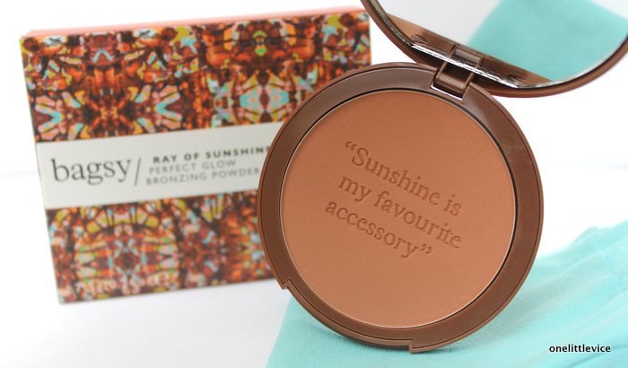 one little vice beauty blog: handbag bronzer new launch