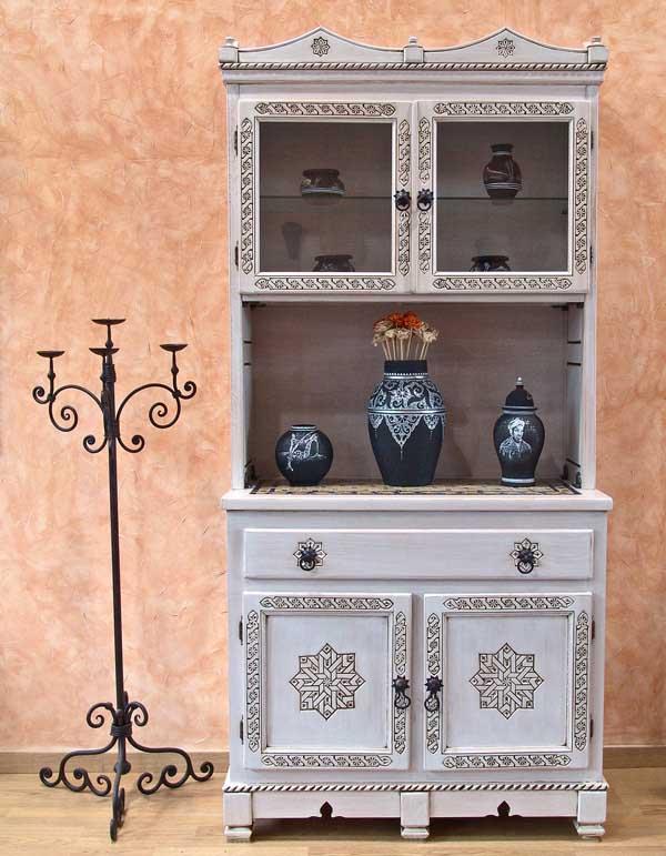 Rustik chateaux la alacena un mueble donde exhibir tus for Muebles estilo arabe