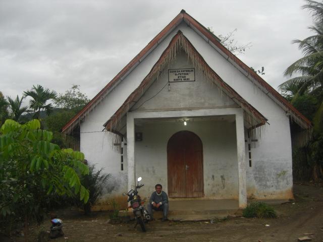 gedung gereja stasi sejak tahun 1967 namun kiranya gedung gereja