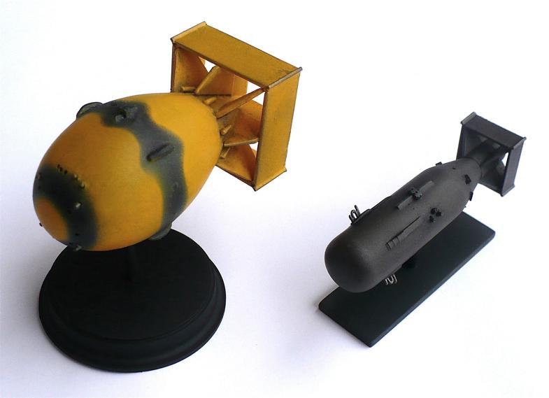 Atomic Bomb Fatman And Little Boy
