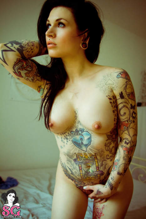 Women tattoo full body naked pics 108