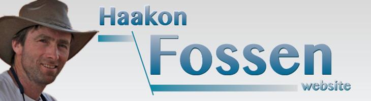 Haakon Fossen Website