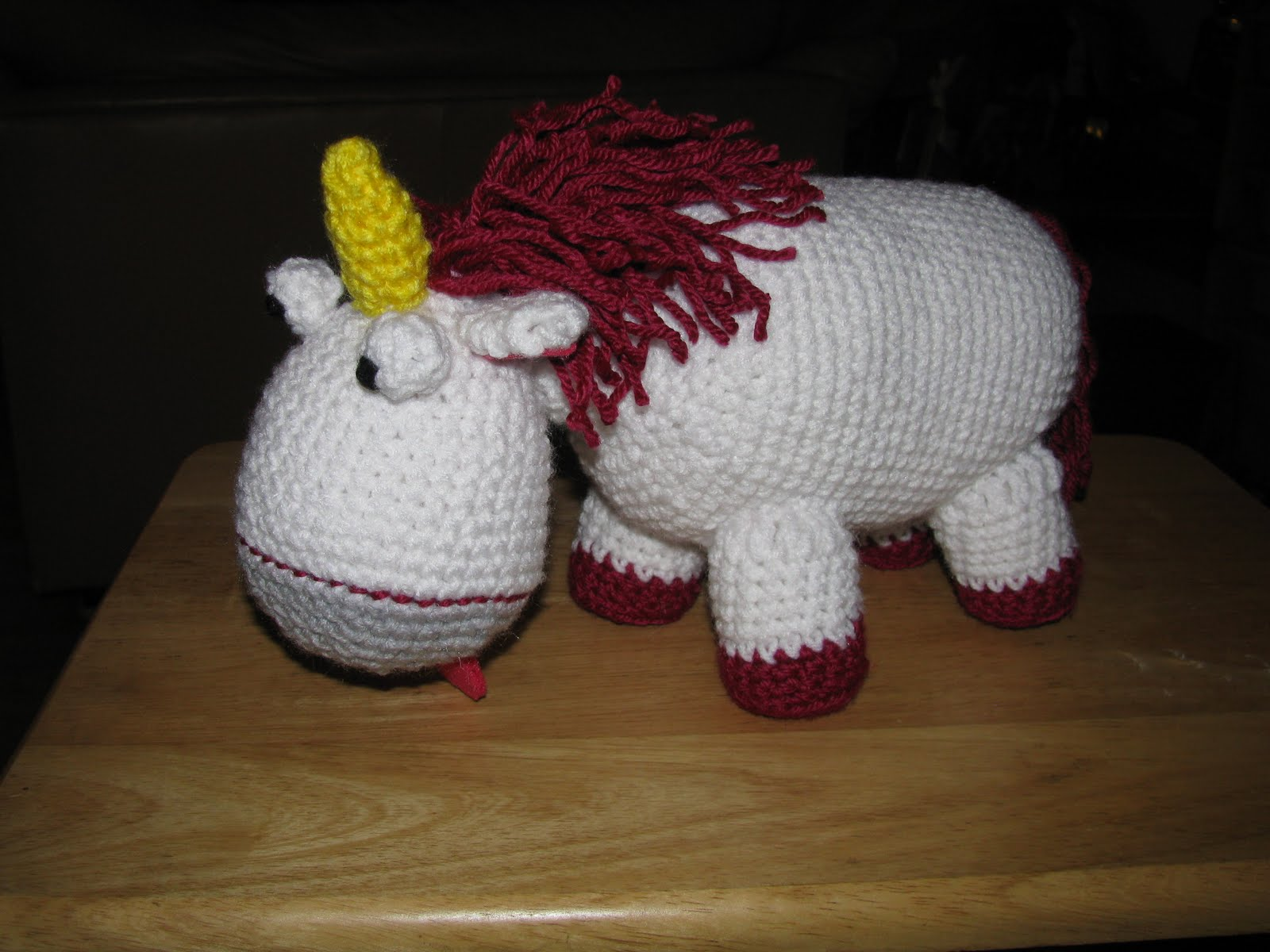 Amigurumi Unicornio Gru : Rad linc crafts unicorn amigurumi it s just despicable