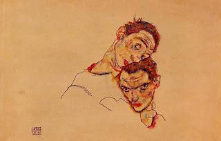 Auto-Retrato Dupl, Egon Schiele