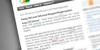 Cara Memasang SEO Smart Link di Blogspot