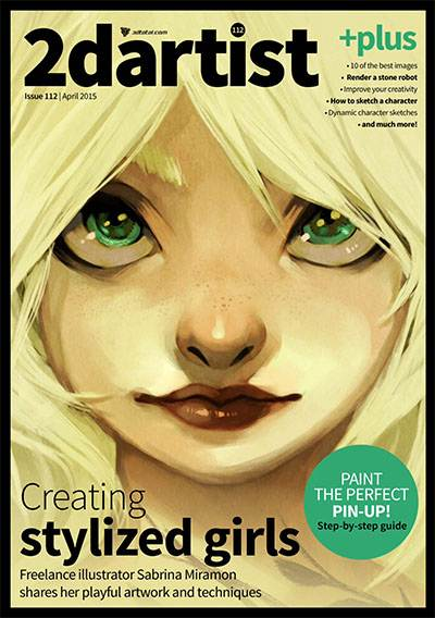 2DArtist Magazine Issue 112 April 2015
