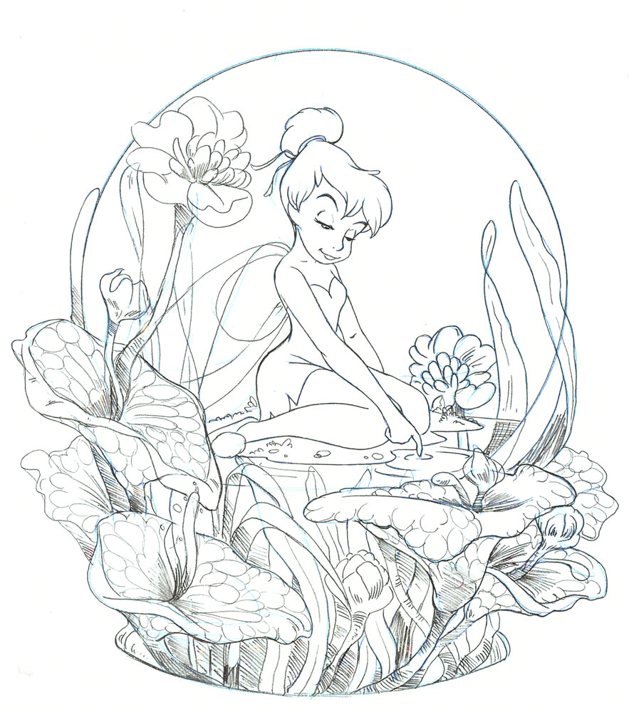 christmas snow globes coloring pages - photo#23