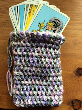 Handmade Pouches for cards and stones. Various colors!