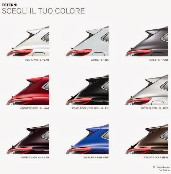 ... per uscire: Nissan Qashqai 2014 - i colori e il listino ufficiale