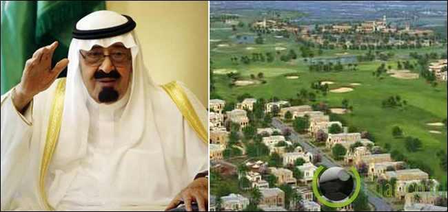 Raja Abdullah (Arab Saudi) - 830 Ribu Mil Persegi