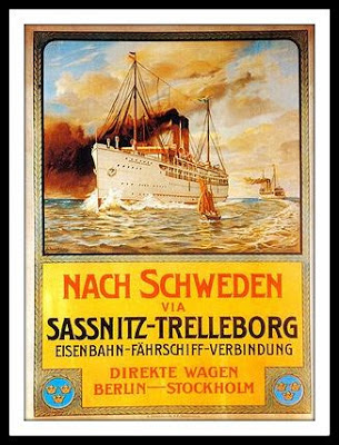 Sassnitz a Trolleborg
