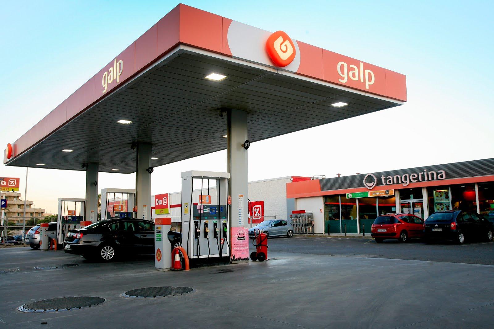 Gasolinera Galp Energía