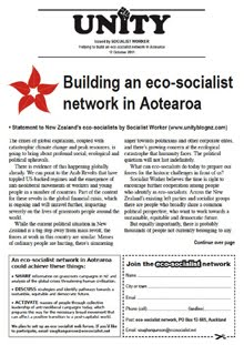 UNITY leaflets