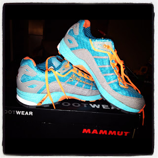 Mammut trail shoes