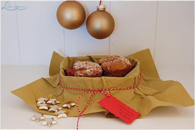 Thermomix Lebkuchen Preiselbeer Muffins