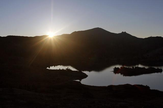 sunrise lake ansel adams
