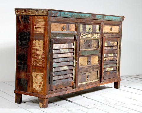 The Art Of Up-Cycling: Furniture Upcycling Ideas-Upcycled Chest Of ...