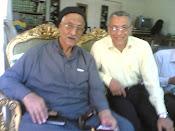 مع الدكتور جابر قميحة فى بيته