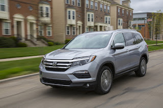 Reworked Honda Pilot competes well in SUV crowd