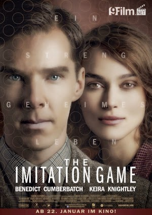 The Imitation Game 2014 poster