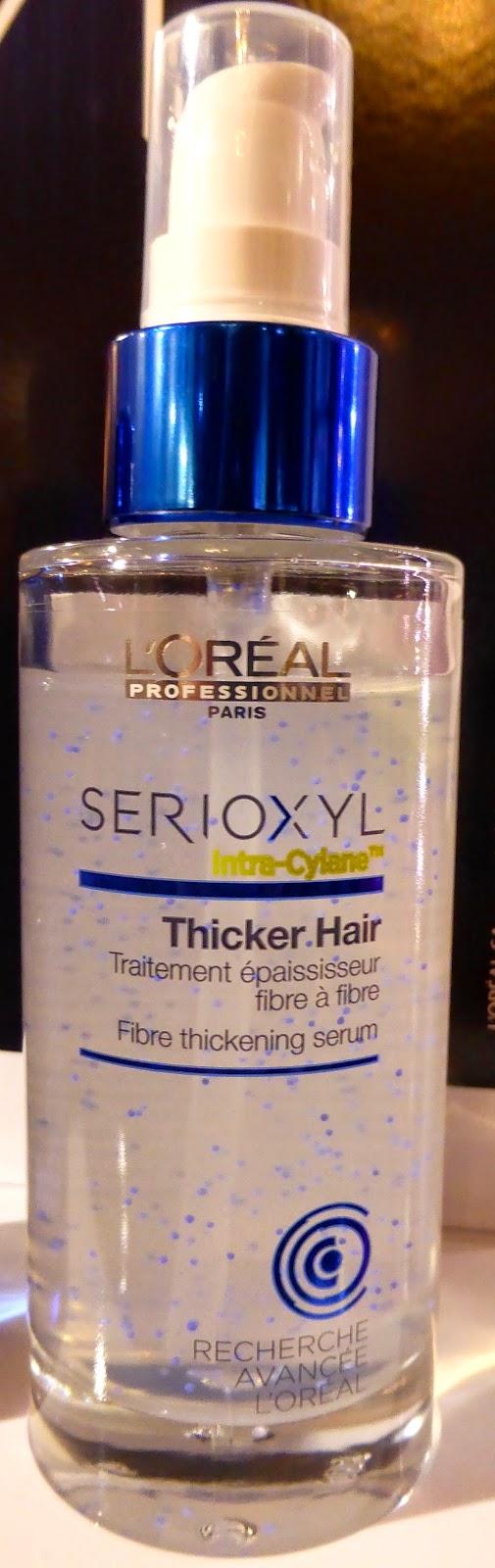 Serioxyl Thicker Hair, pour ré-épaissir instantanément vos cheveux., L'Oréal Recherche Avancée.